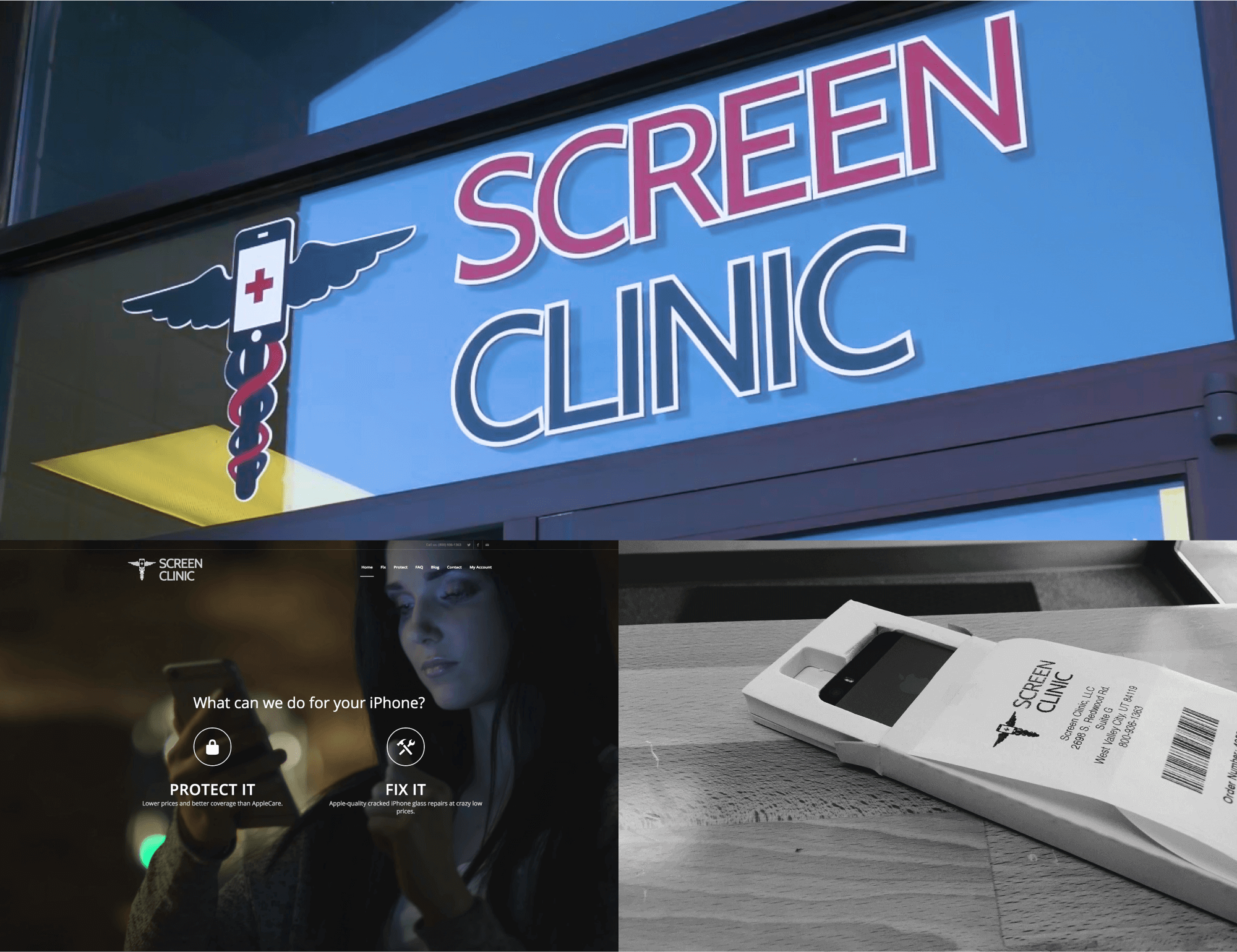 screenclinic-applications
